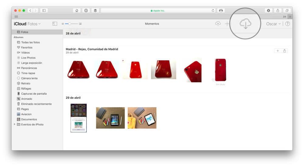 Aprende como pasar fotos de iCloud a PC o Mac