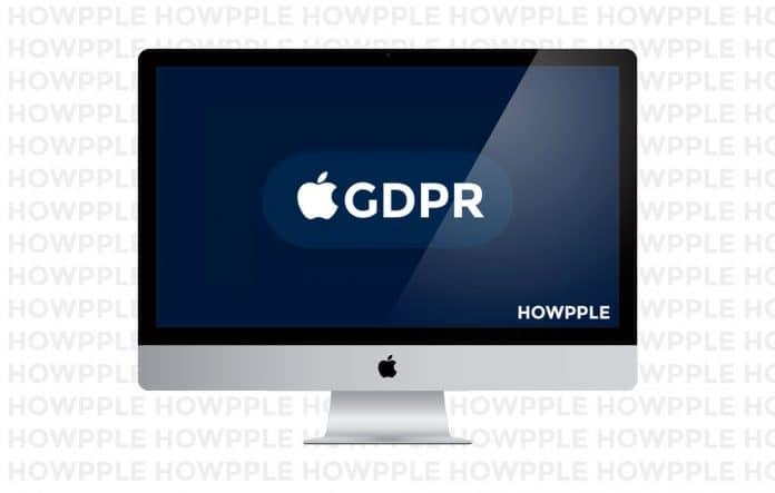 Ley GDPR y privacidad Apple
