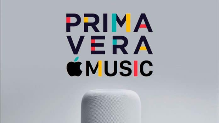 Apple estrena escenario en el Primavera Sound 2018 Primavera with Apple Music