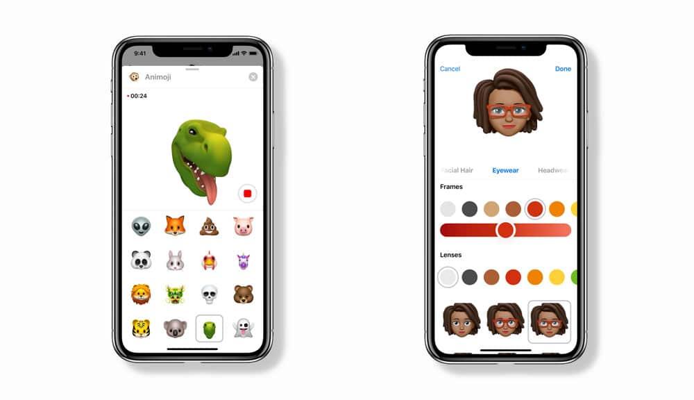 Nuevos Animoji y Memoji de iOS 12