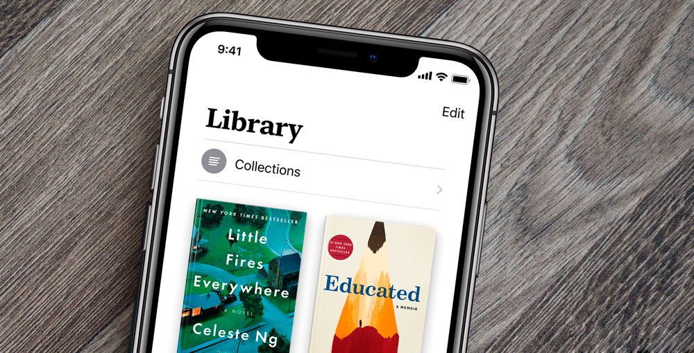Apple Presenta el nuevo Apple Books en iOS 12
