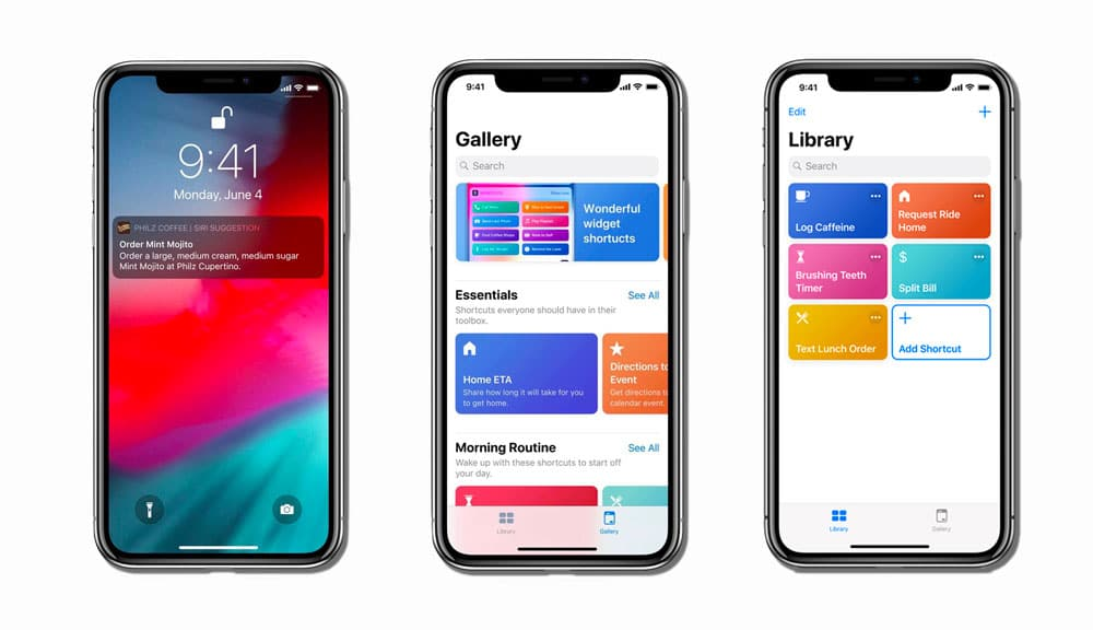 Automatizar acciones con Siri Shortcuts en iOS 12