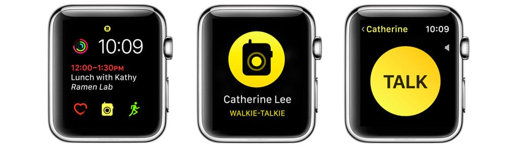 WatchOS 5 Walkie Talkie para Apple Watch