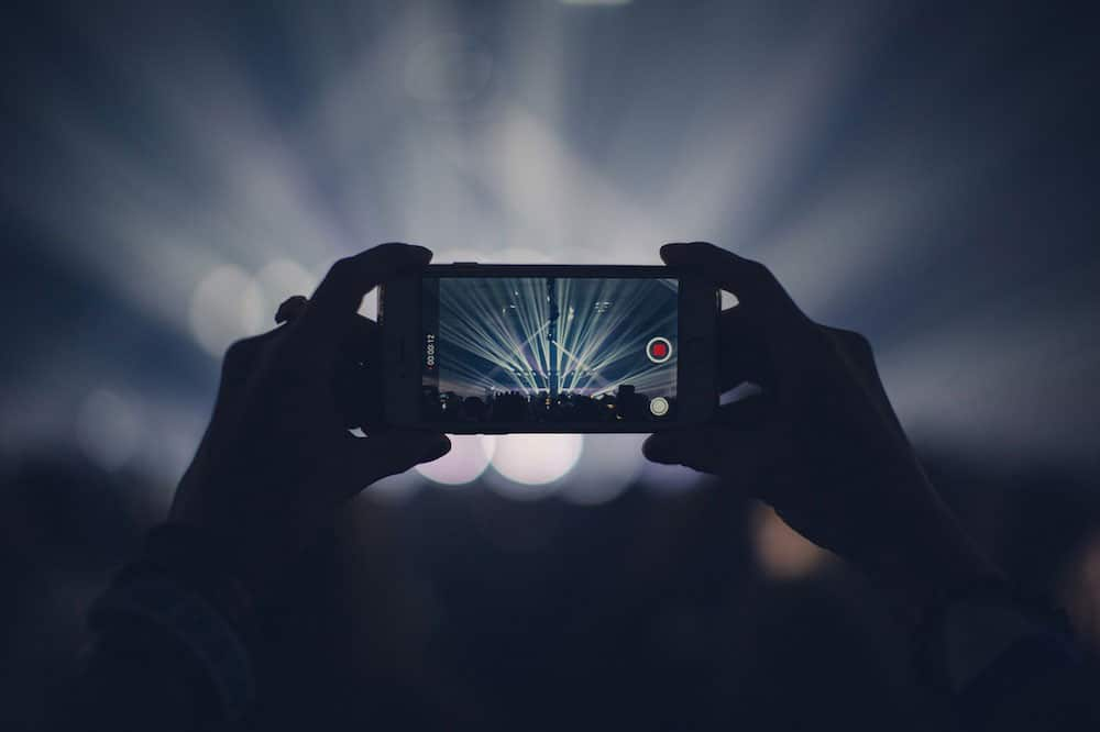 Mejores fotos con iPhone en festivales