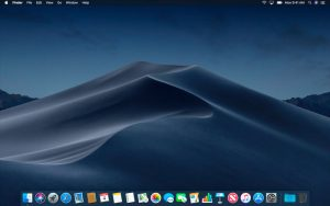 Dynamic Desktop night macOS Mojave