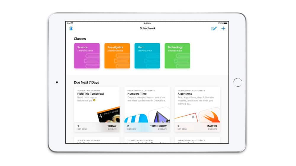 Aprender con iPad