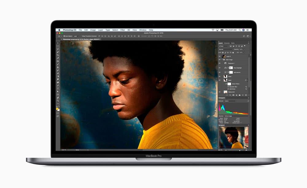Pantalla Retina con True Tone del nuevo MacBook Pro