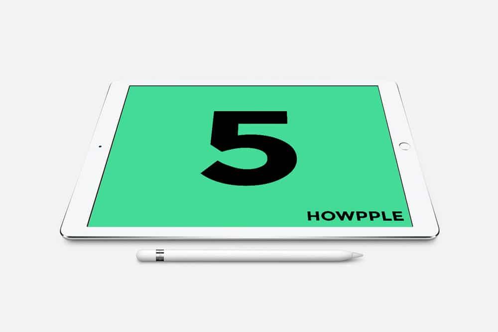 CINCO cosas para aprender con el iPad
