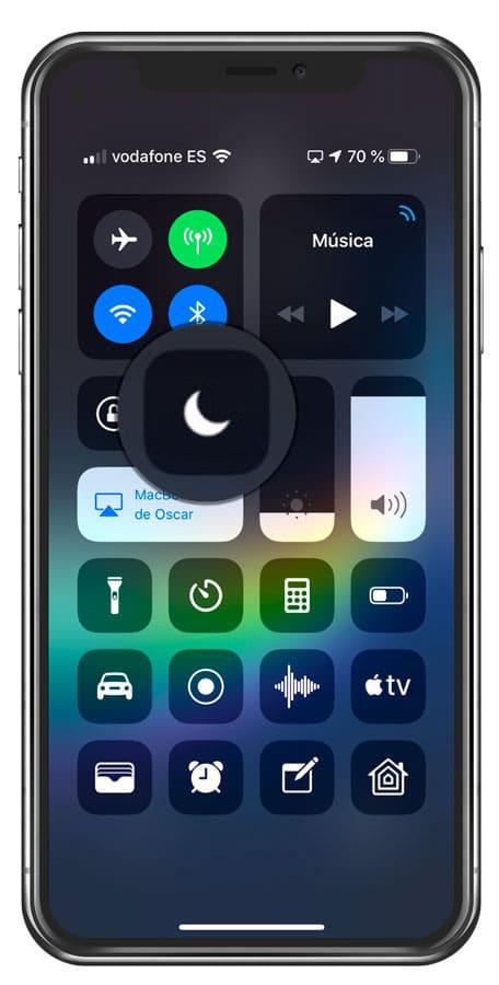 Nuevas opciones del modo no molestar en iOS 12