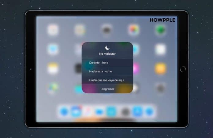 Cómo activar el modo no molestar en iOS 12