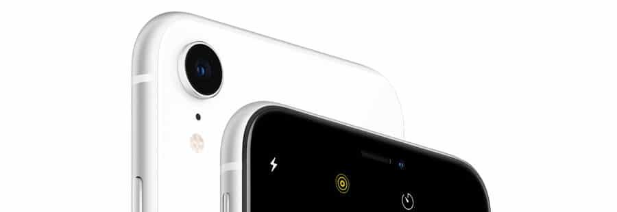Cámara trasera del nuevo iPhone XR