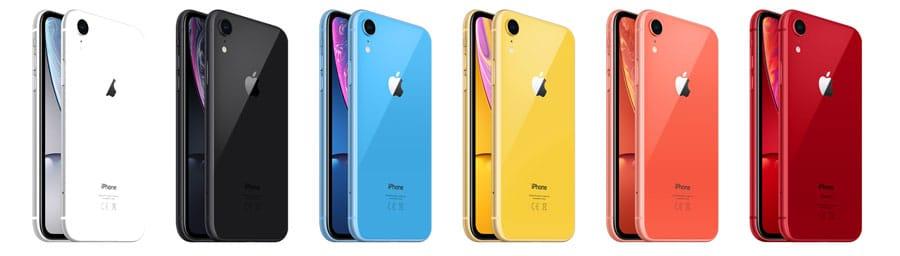 Seis colores para el nuevo iPhone XR