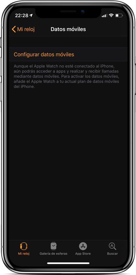 Aprende cómo Activar datos móviles del Apple Watch 4