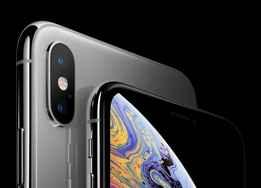iPhone XS plateado