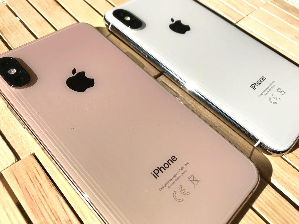 Diseño iPhone XS y iPhone X