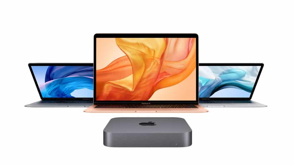 nuevos MacBook Air 2018 y nuevo Mac mini 2018