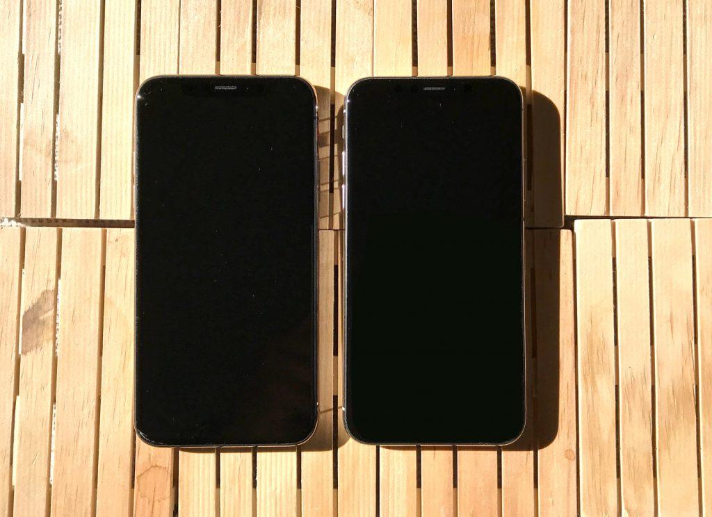 pantalla iPhone XS y iPhone X
