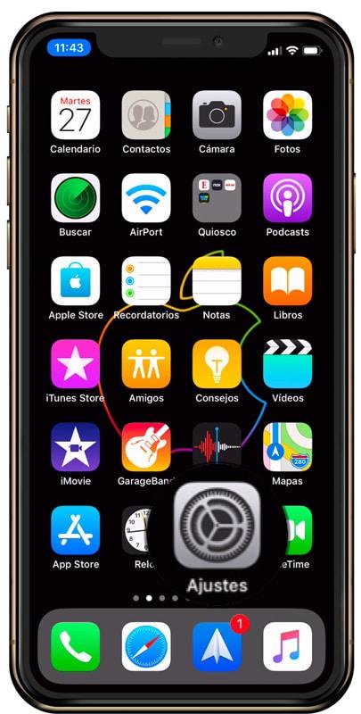 Ajustes iOS iPhone-Howpple