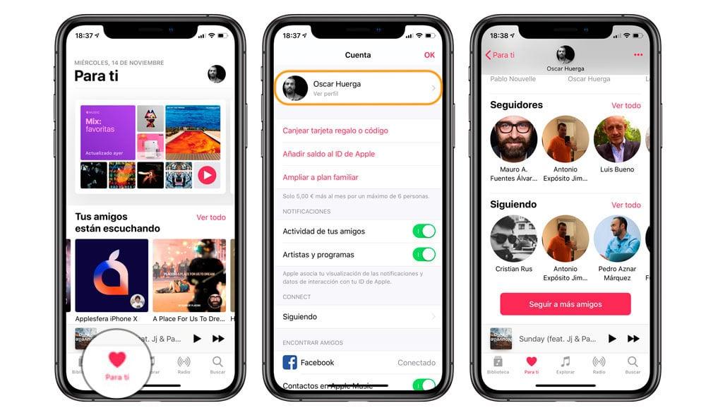 Aprende Cómo saber quien te sigue en Apple Music
