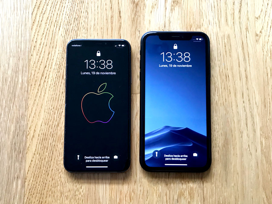 Pantalla iPhone XR VS iPhone XS