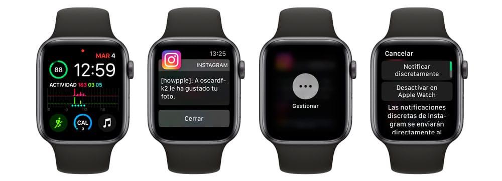 Aprende cómo gestionar las notificaciones del Apple Watch