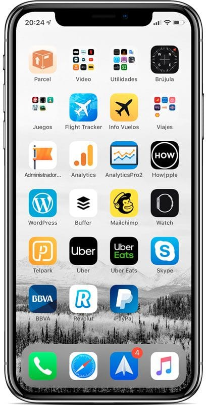Aprende cómo poner una carpeta en el Dock del iPhone - Guia iPhone