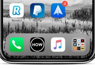 Cómo poner una carpeta en el Dock del iPhone