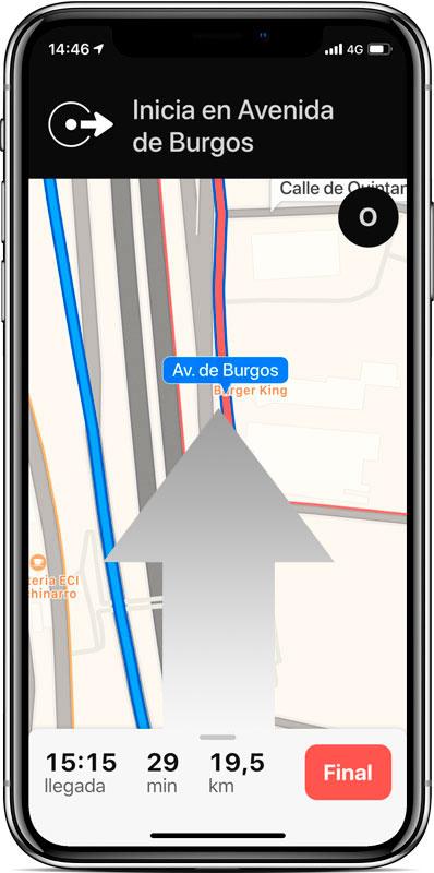 Cómo ver rutas alternativas de Mapas