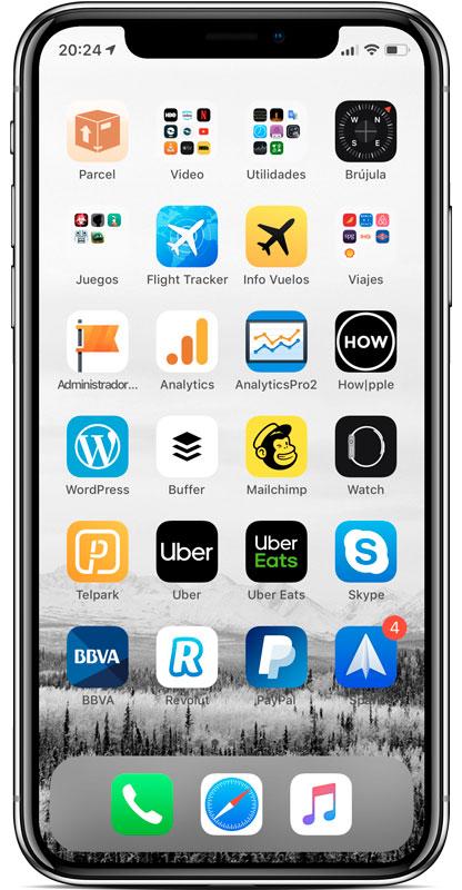 Cómo poner una carpeta en el Dock del iPhone - trucos iPhone