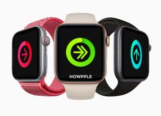 Lista competidores en Apple Watch