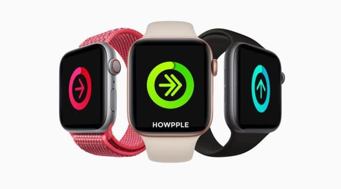 Lista competidores en Apple Watch