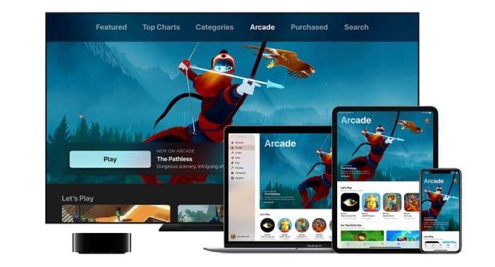 Servicio de juegos Apple Arcade