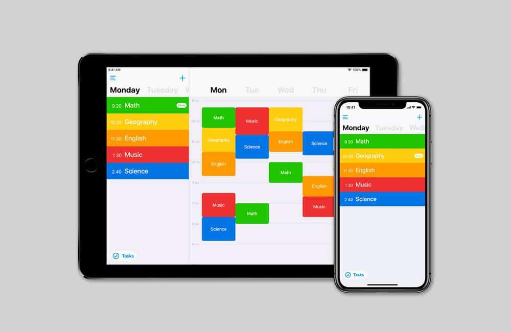 Mejores aplicaciones para hacer Horarios en iPhone y iPad