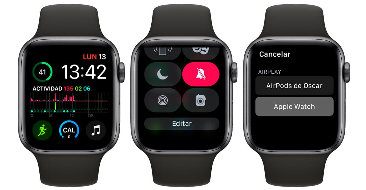 Conectar AirPods y Apple Watch