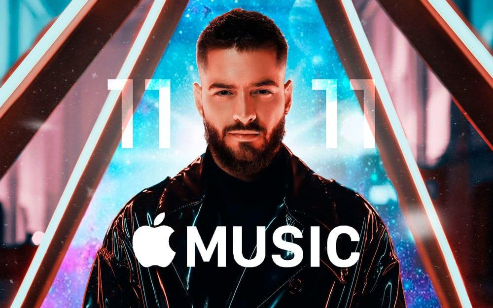 Nuevo disco de Maluma en Apple Music