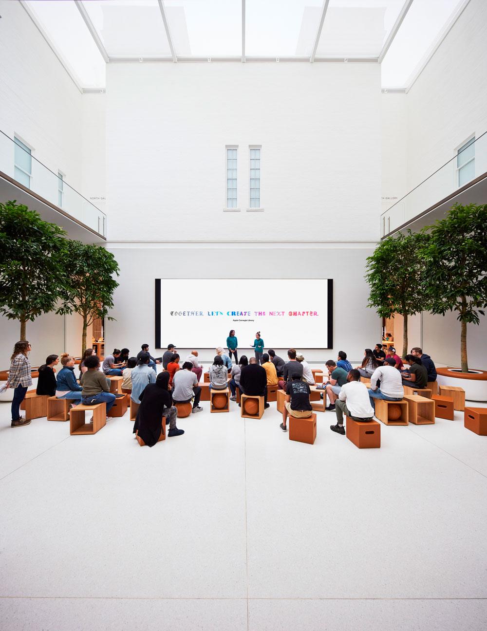 Espacio de Today at Apple en Washington DC