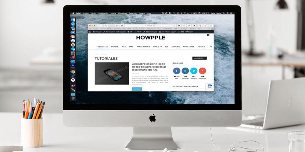 Aprende personalizar la barra de herramientas de Safari para Mac