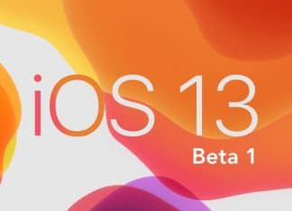 Beta de iOS 13 main