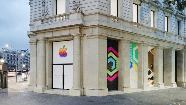 Entrada Apple Store Barcelona