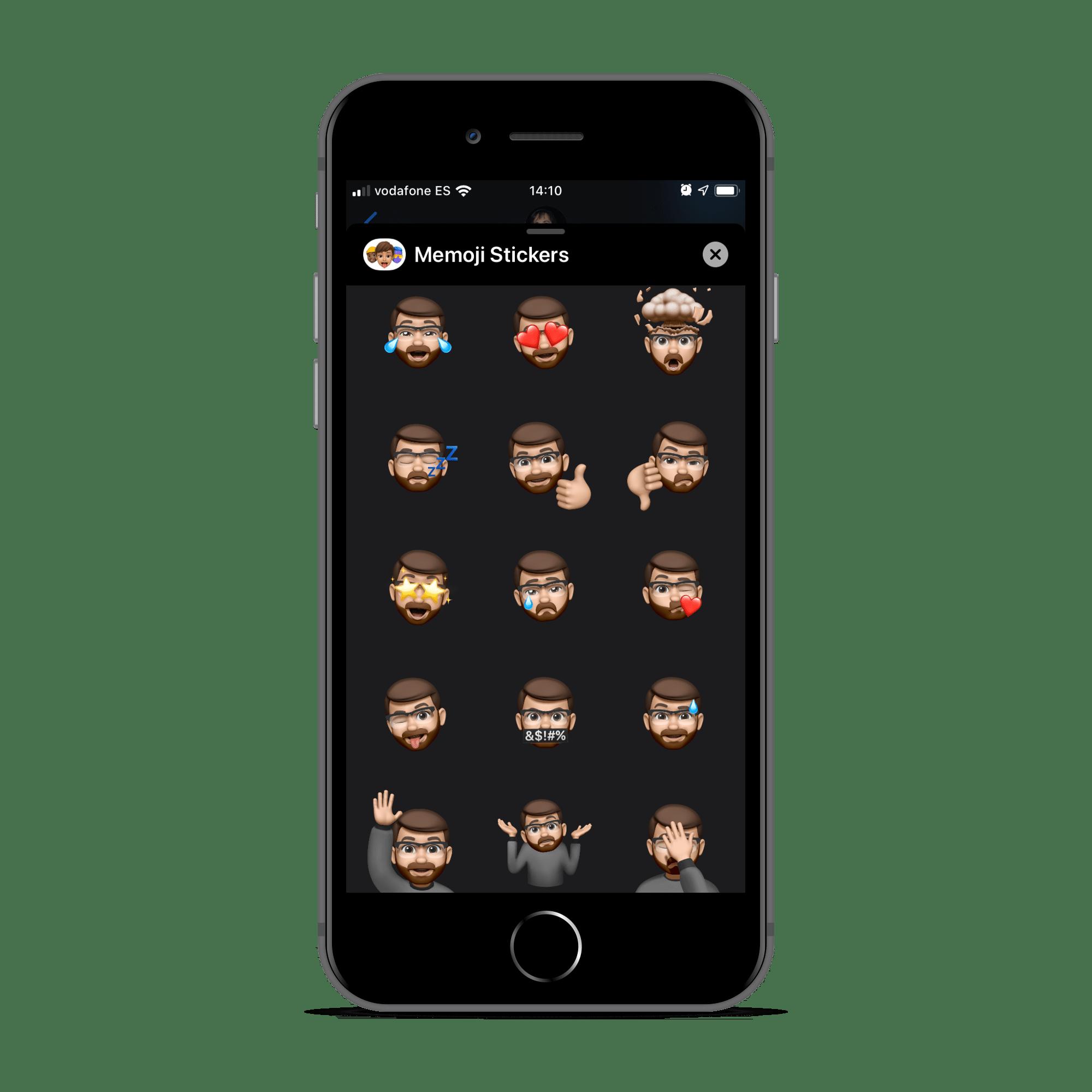 Animoji en la beta de iOS 13