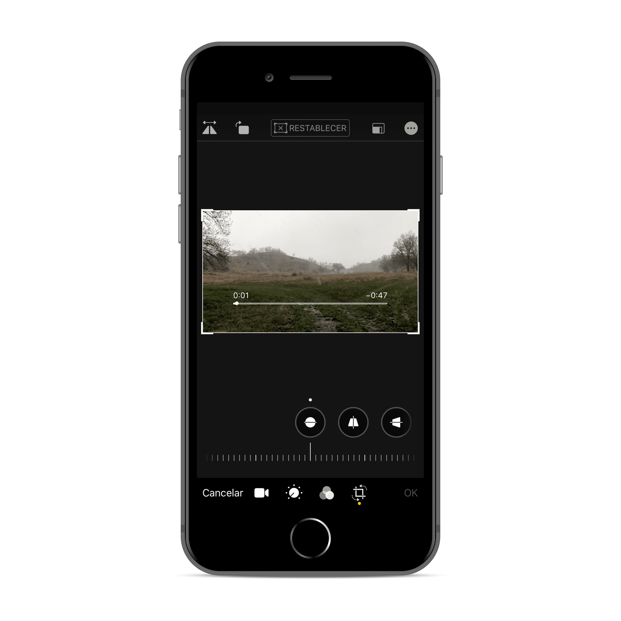 Edición de fotos en la beta de iOS 13