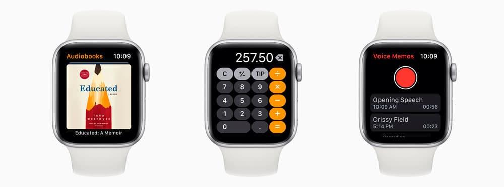 TRES nuevas aplicaciones para WatchOS 6