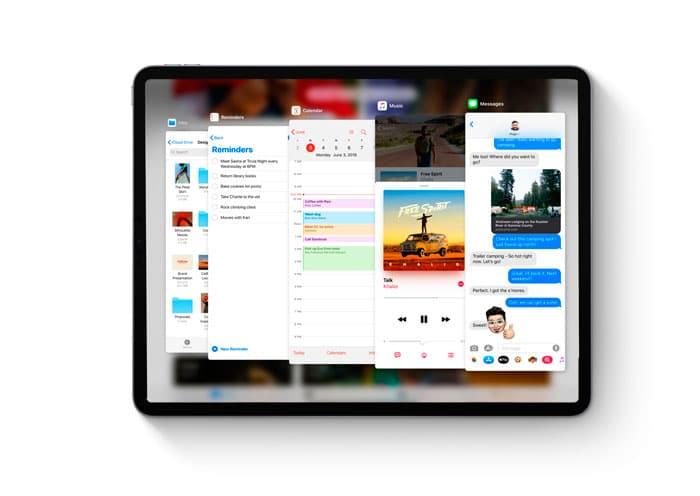 Nuevo Split View en iPadOS