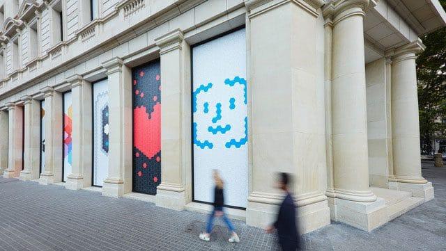 Detalle Apple Store Barcelona