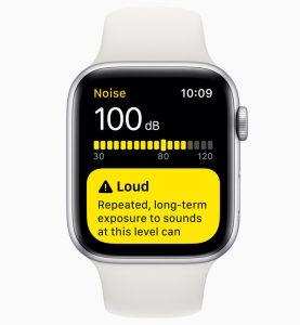 aplicación ayuda auditiva Noise watchOS 6