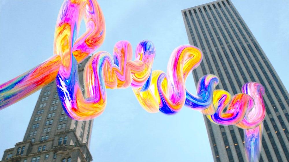 Today at apple realidad aumentada y arte