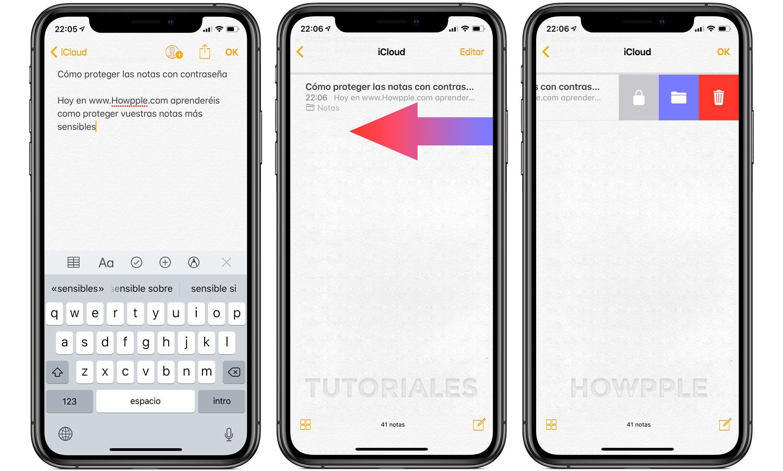 Aprende a proteger tus notas en iPhone y iPad