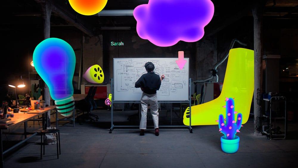 Today at apple arte y realidad aumentada