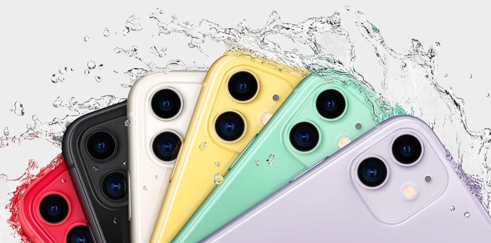 cámara trasera del iPhone 11