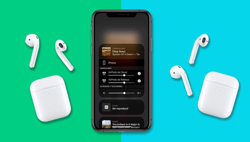 Cómo compartir música con dos auriculares inalámbricos